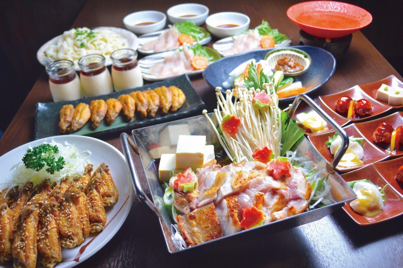 名物料理と名古屋コーチンコース